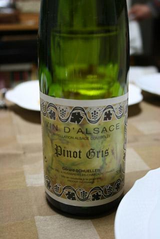 アルザスの白ワイン