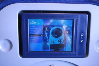KLMオランダ航空の機内2