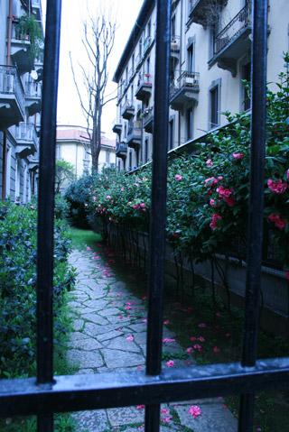 ミラノの街角
